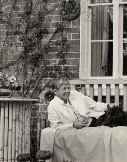 Noel Evelyn (née Hughes), Lady Norton, by Ida Kar - NPG x132788