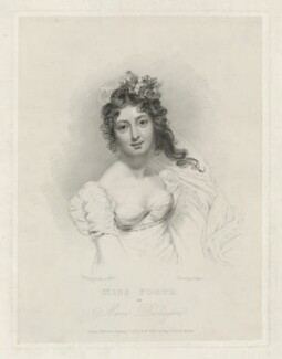 Maria Stanhope (née Foote), Countess of Harrington, by Charles Picart, published by  William Cribb, after  George Clint - NPG D35462