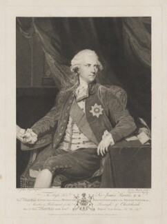 James Harris, 1st Earl of Malmesbury, by and published by Caroline Watson, after  Sir Joshua Reynolds - NPG D35520