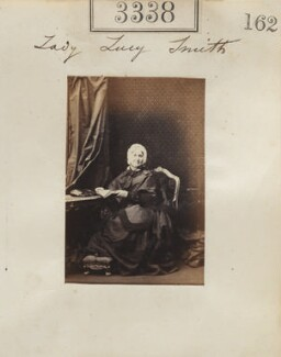 Lady Lucy Smith (née Leslie-Melville), by Camille Silvy - NPG Ax52735
