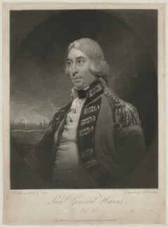 George Harris, 1st Baron Harris, by Samuel William Reynolds, published by  Jeffryes & Co, after  Arthur William Devis - NPG D35523