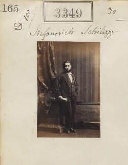 Demetrius Stefanovich Schilizzi, by Camille Silvy - NPG Ax52746