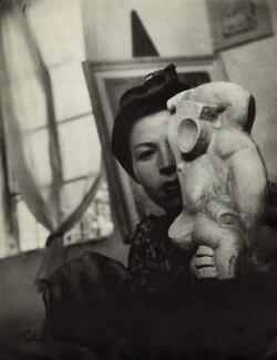 Gerda Matuszczak (née Jakob), by Ida Kar - NPG x132796