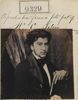'Reproduction from a photographic portrait of Mr. C. Silvy', by Camille Silvy, after  Unknown photographer - NPG Ax59139