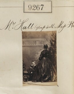 Alice Hall; Mrs Hall, by Camille Silvy - NPG Ax59088
