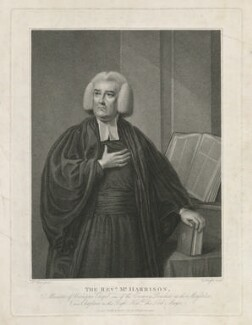 Richard Harrison, by and published by Charles Knight, after  Nathaniel Hone - NPG D35529