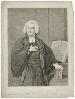 Richard Harrison, by Charles Knight, after  Nathaniel Hone - NPG D35530