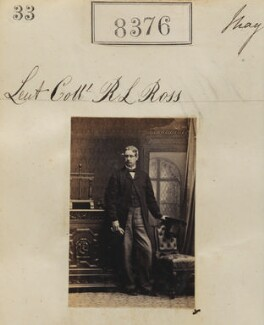Robert Lockhart Ross, by Camille Silvy - NPG Ax58195