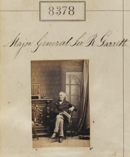 Sir Robert Garrett, by Camille Silvy - NPG Ax58197