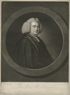 Richard Harrison, by James Watson, published by and after  Joseph Samuel Webster - NPG D35531