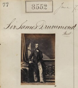 Sir James Williams-Drummond, 3rd Bt (né Walker-Drummond), by Camille Silvy - NPG Ax58375