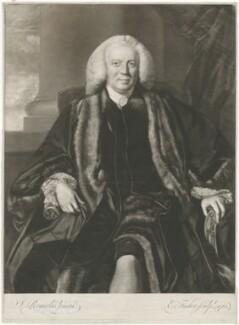 Sir Thomas Harrison, by Edward Fisher, after  Sir Joshua Reynolds - NPG D35534