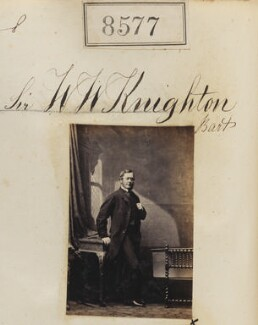 Sir William Wellesley Knighton, 2nd Bt, by Camille Silvy - NPG Ax58400