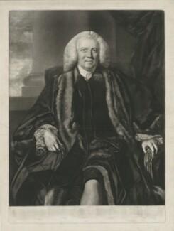 Sir Thomas Harrison, by Edward Fisher, after  Sir Joshua Reynolds - NPG D35535