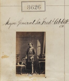 Sir Frederick Abbott, by Camille Silvy - NPG Ax58449