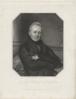 Dudley Ryder, 1st Earl of Harrowby, by Henry Bryan Hall, printed by  Wilkinson & Dawe, published by  Henry Thomas Ryall, published by  James Fraser, published by  Sir Francis Graham Moon, 1st Bt, after  Madame Meunier, published 1837 - NPG D35537 - © National Portrait Gallery, London