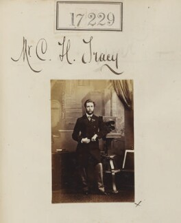Charles Henry Tamworth Hanbury-Tracy, by Camille Silvy - NPG Ax65101