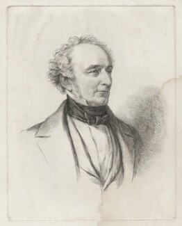 Sir Richard Charles Kirby, by William Carpenter, after  Margaret Sarah Carpenter - NPG D35582