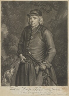 William Draper of Beswick, by and published by John Faber Jr, after  Charles Philips - NPG D35391