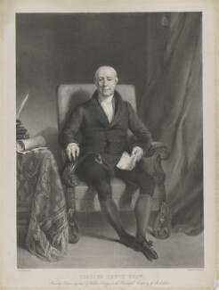 Charles Druce, by Thomas Fairland, published by  Jérémie Graf, after  William Keighley Briggs - NPG D35394