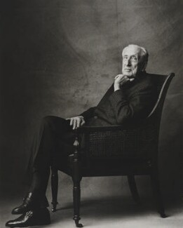 Sir William Turner Walton, by Lord Snowdon - NPG P844