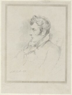 George Harry William Fleetwood Hartopp, by Frederick Christian Lewis Sr, after  Joseph Slater - NPG D35550