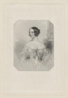Emma Jane (née Dymoke), Lady Hartwell, by William Henry Mote, after  John Hayter - NPG D35551