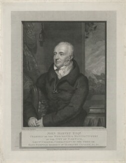 John Harvey, by William Skelton, published by  William Freeman, after  Thomas Stewardson - NPG D35553