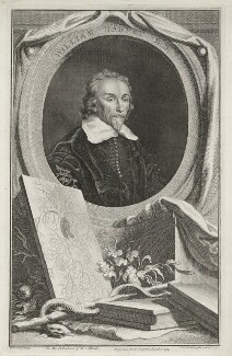 William Harvey, by Jacobus Houbraken, published by  John & Paul Knapton, after  Wilhelm von Bemmel - NPG D35554