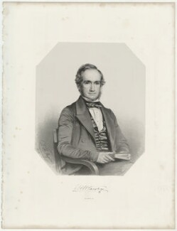 William Henry Harvey, by Thomas Herbert Maguire, printed by  M & N Hanhart, published by  George Ransome - NPG D35556