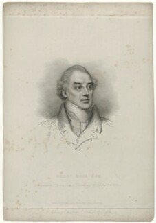 Henry Hase, by and published by Charles Wilkin, after  Francis William Wilkin - NPG D35558