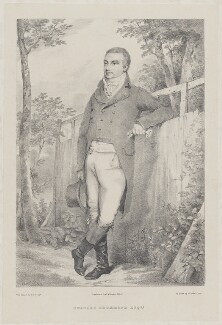 Charles Drummond, by W. Robertson, printed by  Engelmann, Graf, Coindet & Co, after  Henry Edridge - NPG D35395