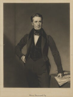 Thomas Drummond, by Henry Cousins, published by  Paul and Dominic Colnaghi & Co, after  Henry William Pickersgill - NPG D35399