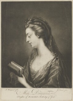 Abigail Drummond, by James Watson, after  Mary Black - NPG D35586