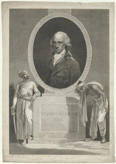 Warren Hastings, by William Bromley - NPG D35567