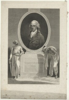 Warren Hastings, by William Bromley - NPG D35568