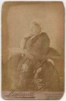 Queen Victoria, by Lafayette - NPG x76054