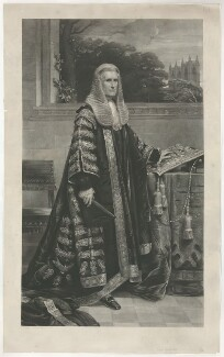 William Page Wood, Baron Hatherley, by John Richardson Jackson, after  George Richmond - NPG D35576