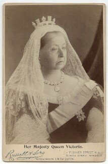 Queen Victoria, by James Russell & Sons - NPG x13848