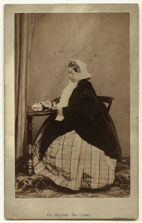 Queen Victoria, by William Henry Southwell, published by  Thomas McLean & Co - NPG x13971