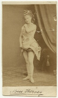 Miss Hervey, by Unknown photographer - NPG x18431