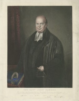 John Hawker, by W. Phillips, published by  John Bennett, after  Mr Harris - NPG D35613