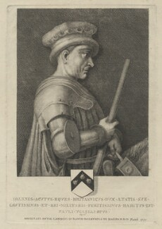 Sir John de Hawkwood, by Thomas Patch, after  Paolo Uccello - NPG D35623