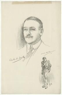 Sir Charles Henry Hawtrey, after Charles Buchel (Karl August Büchel), and after  John Hassall - NPG D35624
