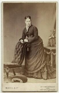 Louisa Dalziel (née Gurden), by Maull & Co - NPG x132801