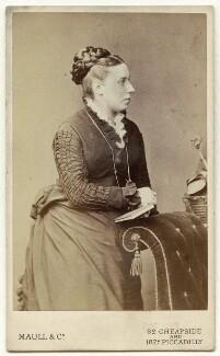 Louisa Dalziel (née Gurden), by Maull & Co - NPG x132802