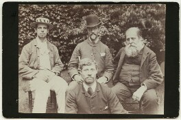 Members of the Dalziel family, by Kosmos, 1880s - NPG  - © National Portrait Gallery, London