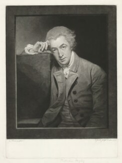 William Hayley, by Johann Jacobé, after  George Romney - NPG D35634