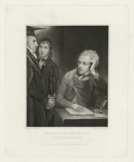 Frontispiece to the Second Volume of Hayley's Memoirs, by Caroline Watson, published by  Henry Colburn & Co, published by  Simpkin and Marshall, after  George Romney - NPG D35635