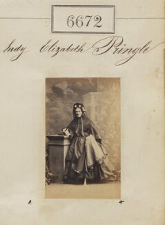 Lady Elizabeth Maitland Pringle (née Campbell), by Camille Silvy - NPG Ax56604
